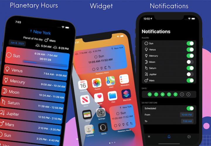 Planetary Hours App